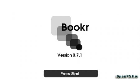 BookR - Book Reader  (читалка книг для PSP)
