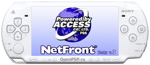 Netfront Internet Browser beta v3.
